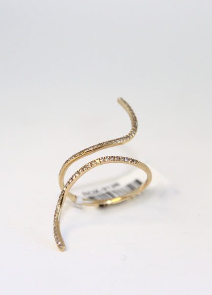 Yellow Gold Wrap Band Ring