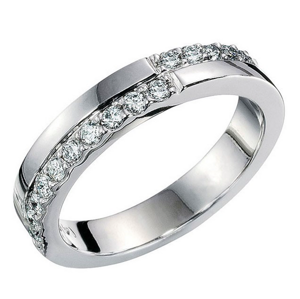 Diamond Wedding Band 0.42CT total