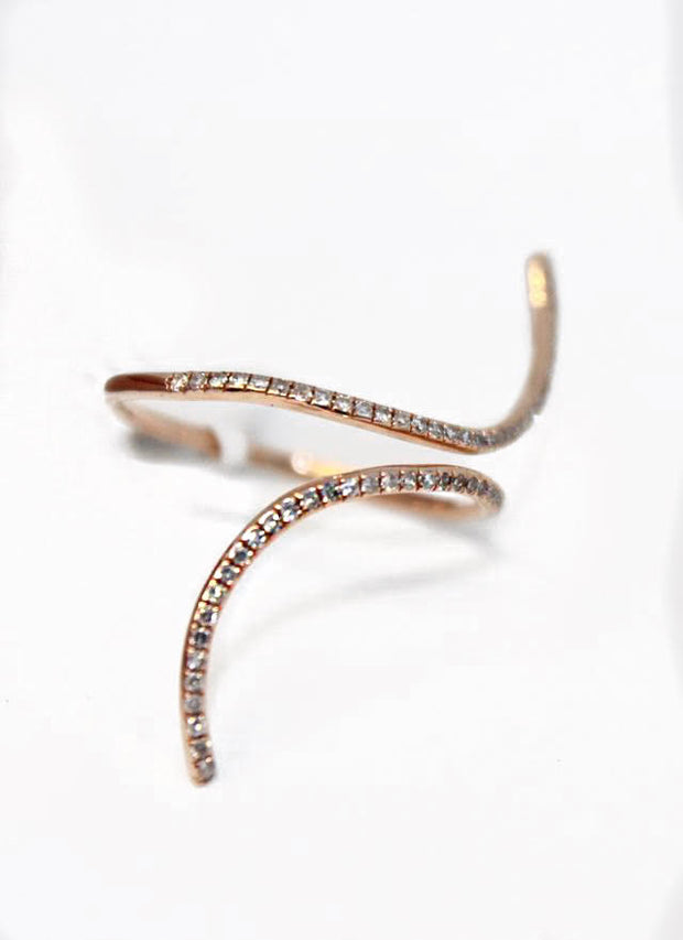 Rose Gold Wrap Band Ring