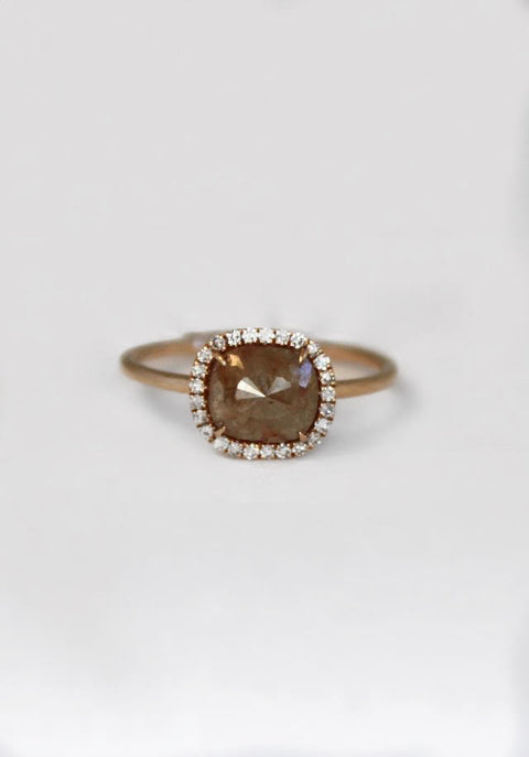 Rough Diamond Ring