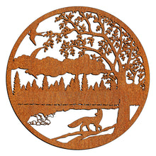 Load image into Gallery viewer, Laser Cut Wall Art - Fox In Moonlight