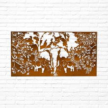 Load image into Gallery viewer, Laser Cut Panel - Elephants 1