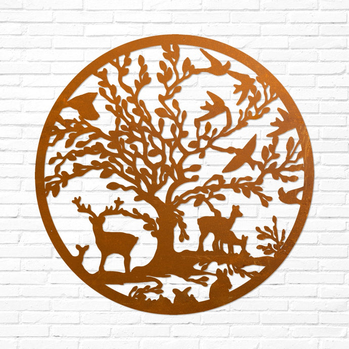 Laser Cut Wall Art - Highland View