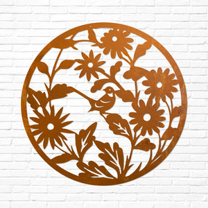 Laser Cut Wall Art - Woodland Glade