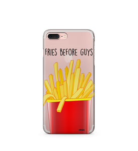 Fries Before Guys Clear Case