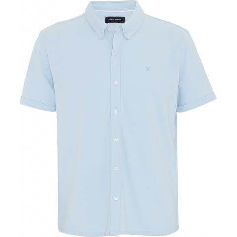 Clean Cut New Ohio Shirt Shirt S/S 002-4 Light Blue