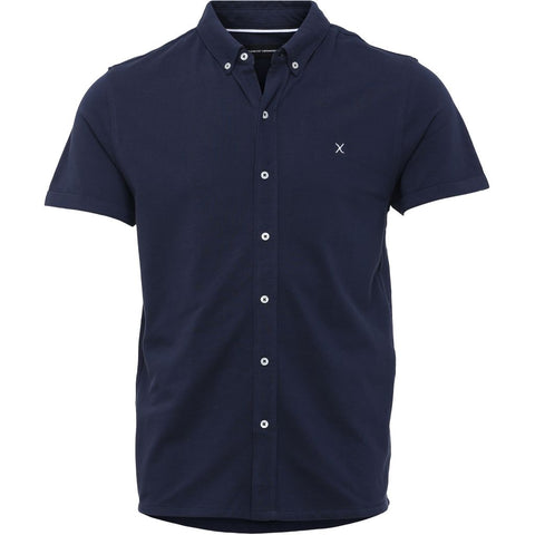 Clean Cut New Ohio Shirt Shirt S/S 002 Navy