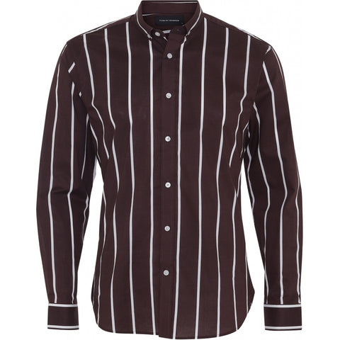 Clean Cut Copenhagen Sälen 106 LS Shirt L/S Bordeaux