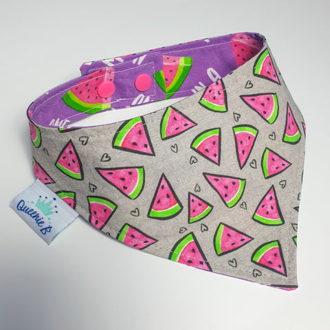 One In A Melon Reversible Bandana