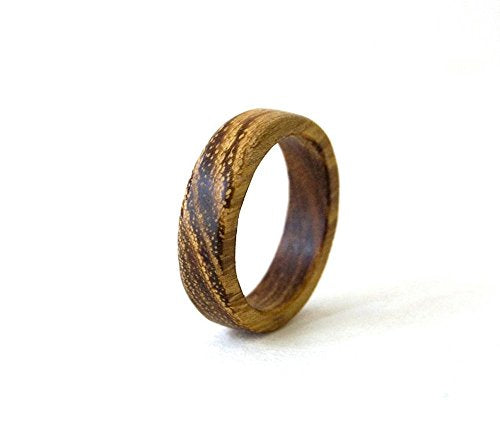 Acacia Wood Wedding Band - Mister Bands