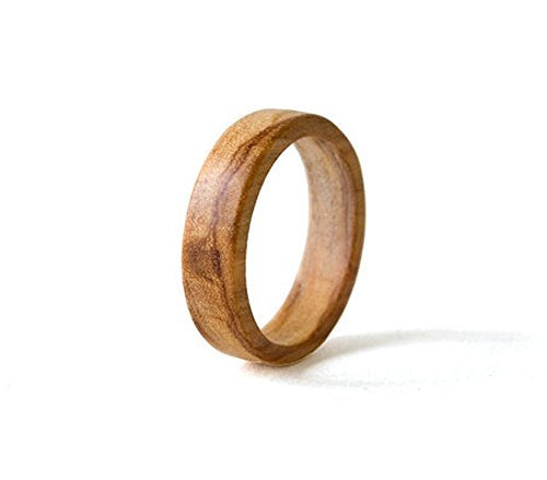 Olive Wood Wedding Band - Mister Bands