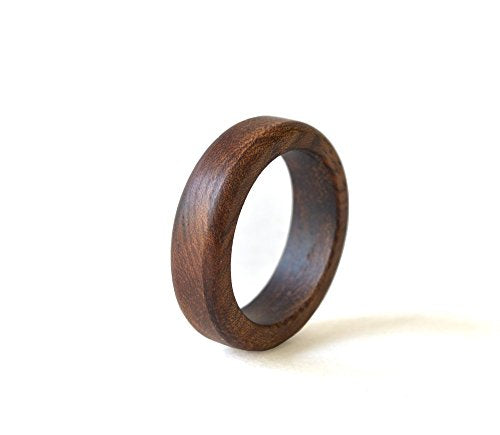 Almond Wood Wedding Band - Mister Bands
