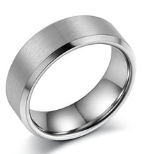 Load image into Gallery viewer, Tungsten Wedding Band Matte Finish - Mister Bands