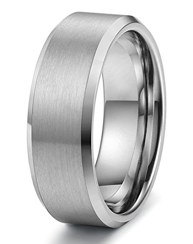 Tungsten Wedding Band Matte Finish - Mister Bands