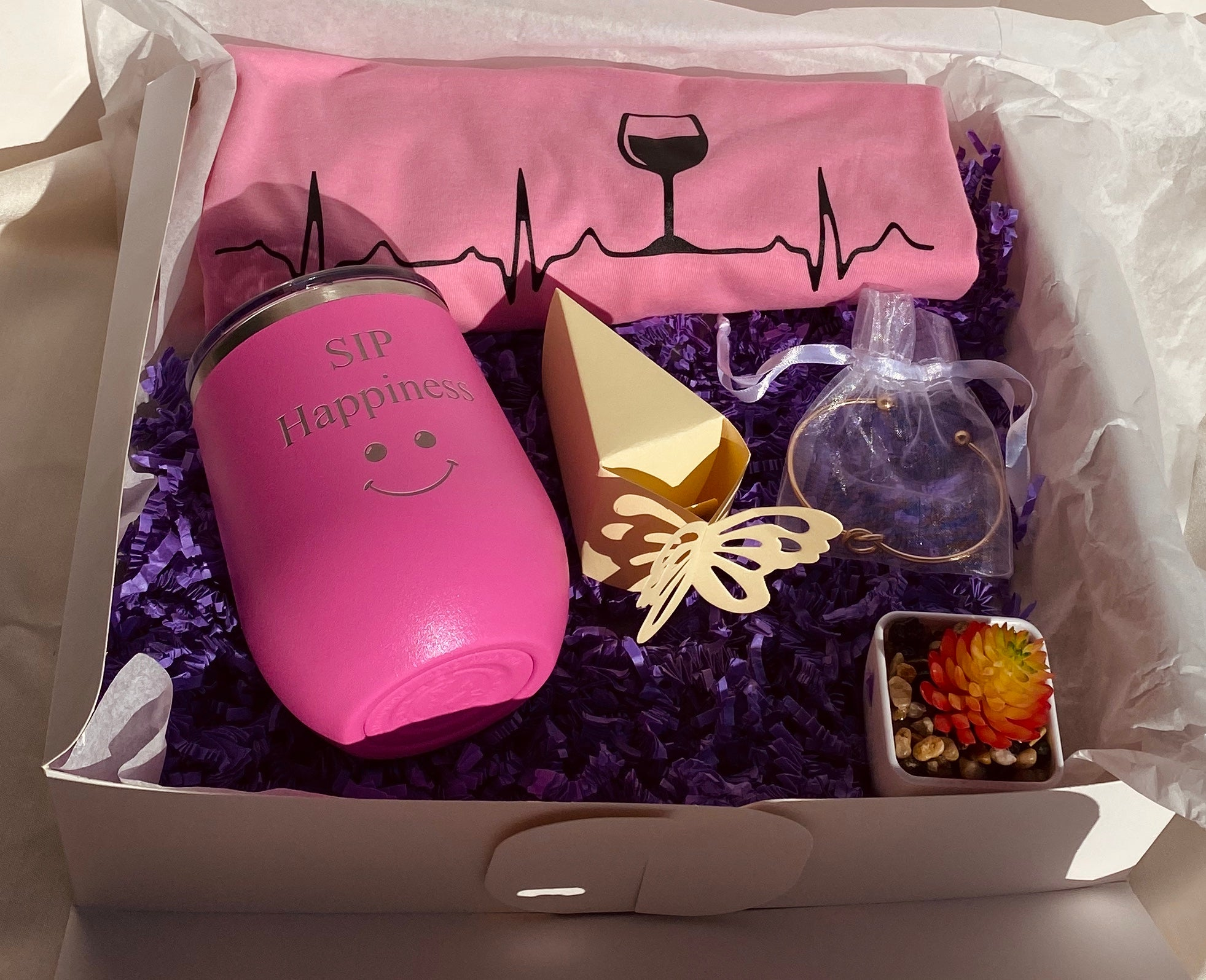 """Sip Happiness"" Gift Box"