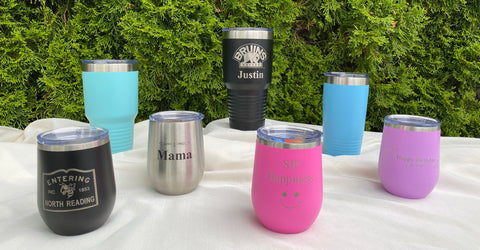 Personalized Tumblers (Laser Engraved)