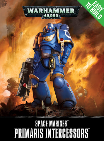 Easy To Build: Space Marine Primaris Intercessors
