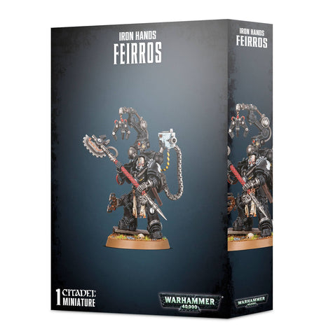 Space Marines Iron Hands Feirros