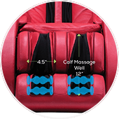 Human Touch Novo XT2 Foot Rollers