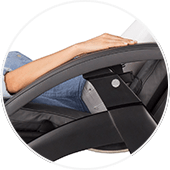 Human Touch Perfect Chair PC-LiVE Armrests