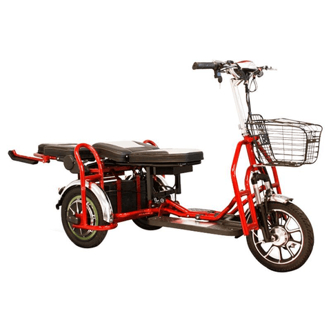 EWheels EW-02 Folding Heavy-Duty Bariatric Scooter