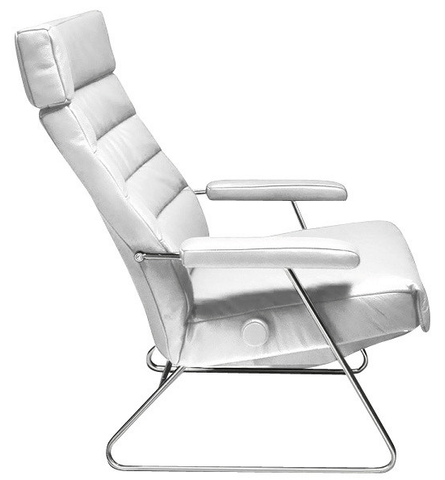 Lafer Recliner White Lafer Adele Recliner