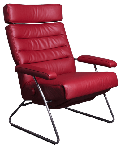 Lafer Recliner Cherry Lafer Adele Recliner