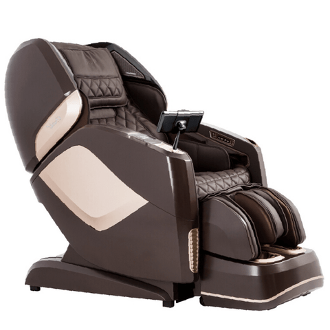 Osaki Massage Chair Brown / FREE 5 Year Extended Limited Warranty ( $249.00 value ) / FREE Curbside Delivery + $0 Osaki OS-4D Pro Maestro LE Massage Chair