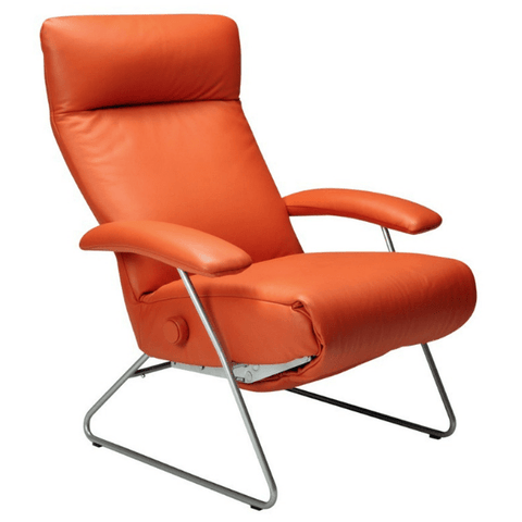 Lafer Recliner Orange Lafer Demi Recliner