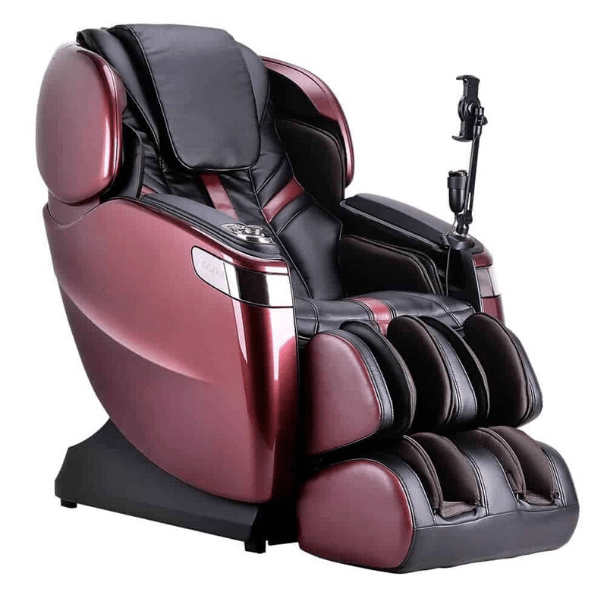 Ogawa Massage Chair Burgundy & Black / Free Manufacturer's Warranty / Free Curbside Delivery + $0 Ogawa Master Drive AI Massage Chair