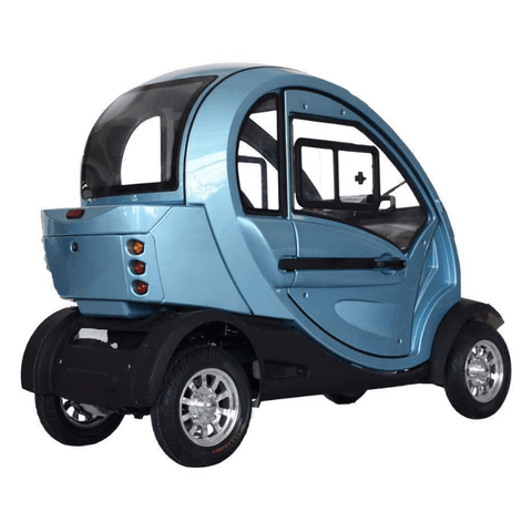 Green Transporter QPod Mobility Scooter
