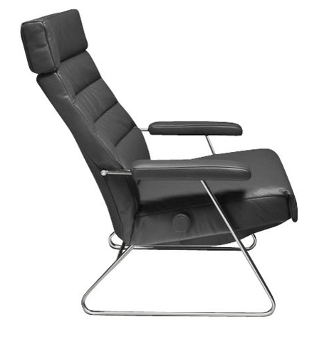 Lafer Recliner Grey Lafer Adele Recliner
