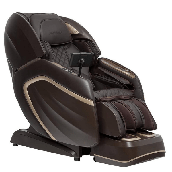 AmaMedic Massage Chair Brown / FREE 5 Year Extended Limited Warranty ( $249.00 value ) / FREE Curbside Delivery + $0 AmaMedic Hilux 4D Massage Chair