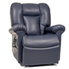 Image of UltraComfort Lift Chair Night Navy / Free Curbside Delivery + $0 UltraComfort UC562 Medium Large Zero Gravity Lift Chair