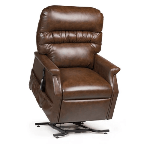 UltraComfort Lift Chair Chestnut / Free Curbside Delivery + $0 / No Vibration/Heat + $0 UltraComfort UC332-M Medium Power Lift Chair