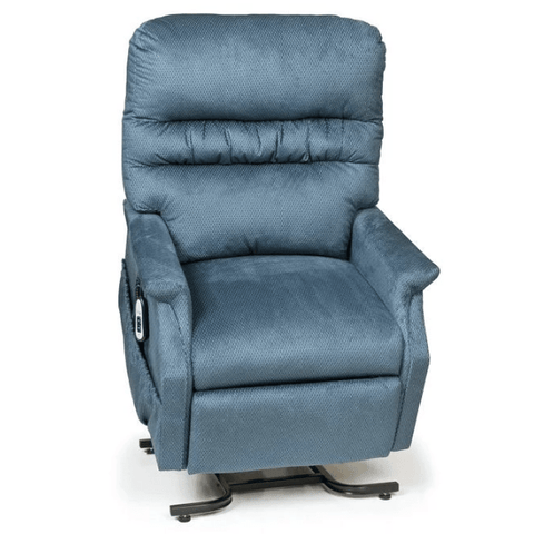 UltraComfort Lift Chair Cornflower / Free Curbside Delivery + $0 / No Vibration/Heat + $0 UltraComfort UC332-M Medium Power Lift Chair