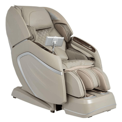 AmaMedic Massage Chair Taupe / FREE 5 Year Extended Limited Warranty ( $249.00 value ) / FREE Curbside Delivery + $0 AmaMedic Hilux 4D Massage Chair