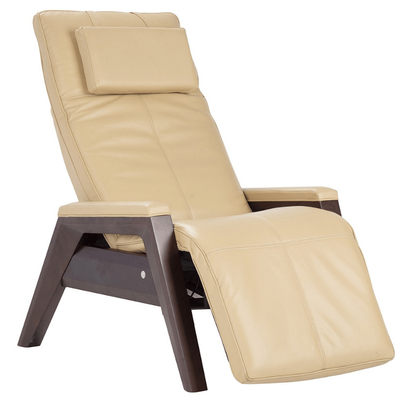 Human Touch Recliner Sand / Mahogany / Free Curbside Delivery + $0.00 Human Touch ZG Gravis Zero Gravity Recliner