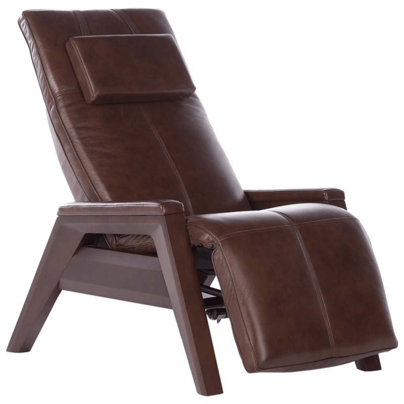 Human Touch Recliner Saddle / Mahogany / Free Curbside Delivery + $0.00 Human Touch ZG Gravis Zero Gravity Recliner