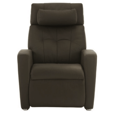 Positive Posture Luma Leather Zero Gravity Recliner Brown