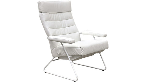 Lafer Recliner White Base Lafer Adele Recliner