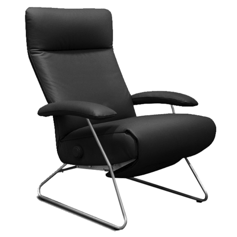 Lafer Recliner Black Lafer Demi Recliner