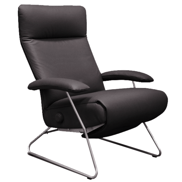 Lafer Recliner Espresso Lafer Demi Recliner