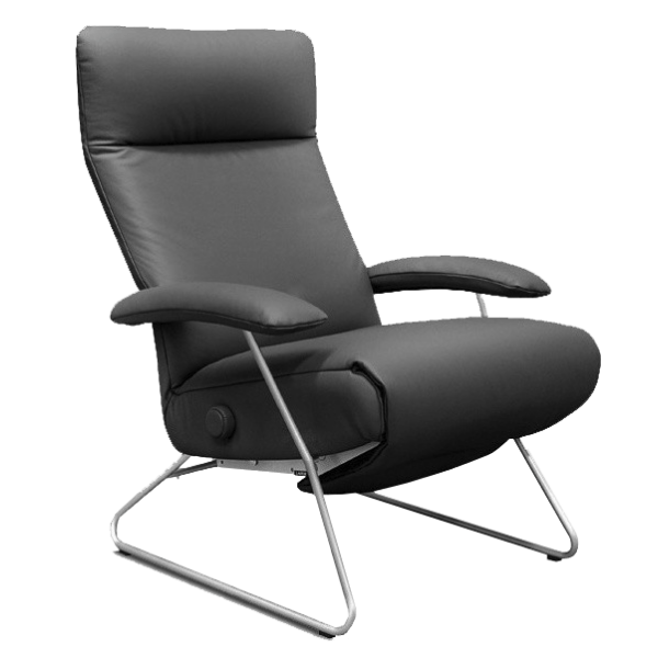 Lafer Recliner Grey Lafer Demi Recliner