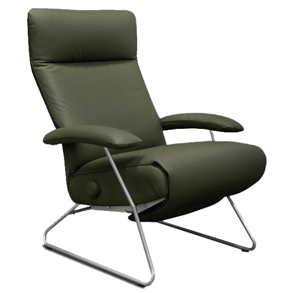 Lafer Recliner Green Lafer Demi Recliner