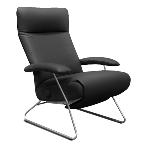 Lafer Recliner Anthracite Lafer Demi Recliner