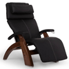 Image of Human Touch Recliner Walnut Wood / Black Soft Hyde / Free Curbside Delivery + $0.00 Human Touch Perfect Chair PC-420 Classic Plus Recliner
