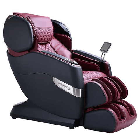 JPMedics Massage Chair Graphic Stone & Fuji Red / FREE 3 Year Limited Warranty / Free Curbside Delivery + $0 JPMedics Kumo Massage Chair