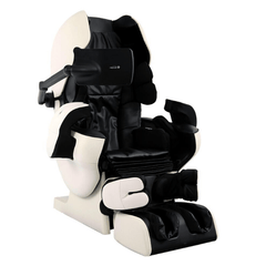 Inada Massage Chair Ivory/Black / FREE 3 Year Limited Warranty / FREE Curbside Delivery + $0 Inada Robo Massage Chair