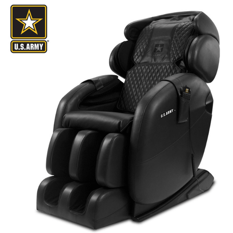 Kahuna Massage Chair Black / FREE Curbside Delivery + $0 / FREE 3 Year Limited Parts/Labor Warranty Kahuna LM-6800S U.S Army Edition Massage Chair